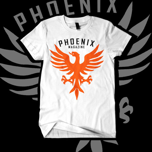 T shirt design for the entertainment industry made you for Phoenix custom t shirts